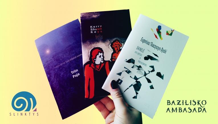 """""""Bazilisko ambasados"""" serijos čiabukai – tarp geriausių 2020 m. verstinių knygų"""