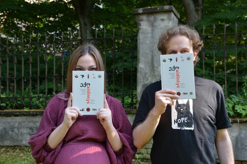"""Ką tik iš spaustuvės atkeliavo naujausia mūsų knyga - jaunųjų Sakartvelo poetų antologija """"Aidintys"""""""