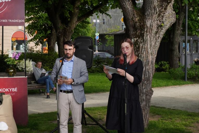 Pristatyta jaunųjų Sakartvelo poetų antologija